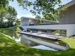 modern water feature deck water feature modern home in oosterhout the netherlands