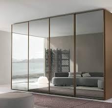 Mirrored Sliding Doors Closet Mirror Sliding Closet Door Handballtunisie Org