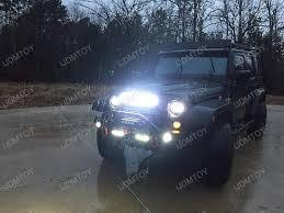 led lights for jeep wrangler 20 120w high power led light bar kit for jeep wrangler jk