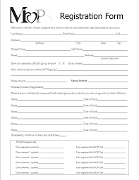 Registration Form Template Excel Fair Registration Form 2 Free Templates In Pdf Word Excel