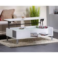 Wohnzimmertisch Mit Stauraum Couchtisch Victor Mit Liftfunktion 110 X 60 Cm Weiß
