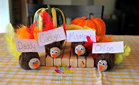 table top place card holders thanksgiving kids craft turkey place card holders from crazy