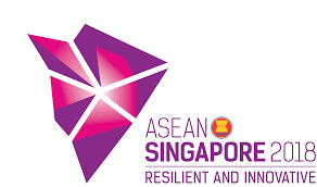 Singapore Flag Icon Asean One Vision One Identity One Community
