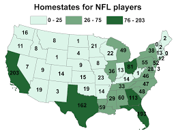 Colleges In Ohio Map by Top States For Producing Nfl Talent Ohio California Florida