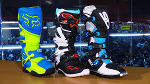 tech 10 motocross boots 2016 intermediate level motorcycle boot guide chapmoto com youtube