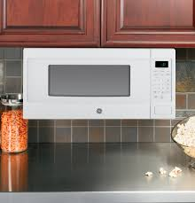 Microwave Under Cabinet Bracket Ge Profile Series 1 1 Cu Ft Countertop Microwave Oven
