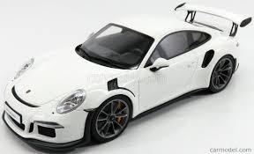 porsche white gt3 gt spirit zm106 scale 1 18 porsche 911 991 gt3 rs coupe 2016 white