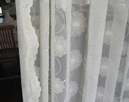 Shabby Chic Window Panels by French Lace Curtains Etsy