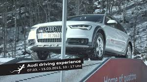 audi quattro driving experience audi quattro experience oberstdorf