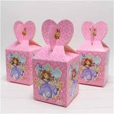 princess candy bags 12pc sofia princess paper candy box chocolate boxes souvenir