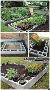 Diy Garden Bed Ideas Diy Cinder Block Raised Garden Bed 20 Diy Raised Garden Bed Ideas