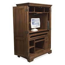 Computer Armoire Espresso Decoration Fabulous Impressive Laminate Beige Corner Computer