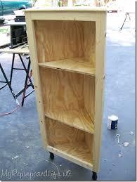 how to make corner cabinet diy corner cabinet my repurposed rescue re imagine