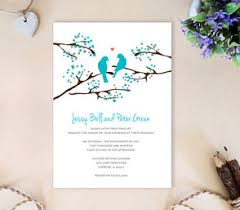 bird wedding invitations cheap wedding invites lemonwedding