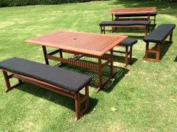 Outdoor Table And Chairs Perth Outdoor Table With Bench Seats Zpqgz Cnxconsortium Org Outdoor