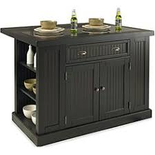 powell color black butcher block kitchen island powell furniture pennfield butcher block black kitchen island by