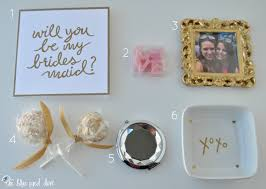 asking bridesmaid gifts will you be my bridesmaid gift ideas for besties