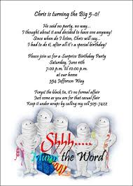 free 50th birthday wordings for 99 big 5 0 party invitations