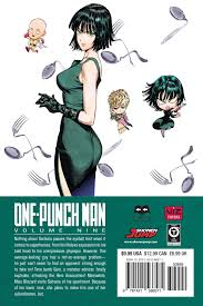 one punch man punch man manga volume 9