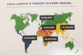 Sub Saharan Africa Map by Child Labor Continues To Prevail In Sub Saharan Africa Capital
