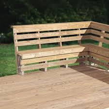 2x4 Outdoor Furniture by Triyae Com U003d Backyard Deck Furniture Various Design Inspiration