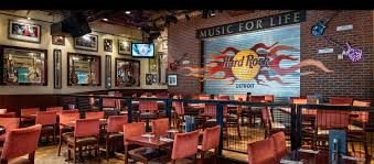Top Bars In Detroit Hard Rock Cafe Detroit Detroit Mi Restaurants Downtown