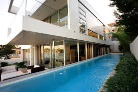 marvelous cantilever patio umbrella in pool contemporary with