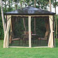 gazebo mosquito netting bel 繪tage garden mosquito net 3m w x 3m d gazebo reviews
