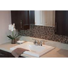 Smart Tiles Minimo Roca  In W  In H Peel And Stick - Peel and stick wall tile backsplash
