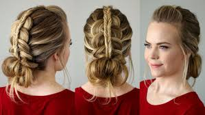 learn how to do this fancy hairstyle yourself with just two simple