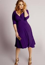 plus size dresses purple pluslook eu collection
