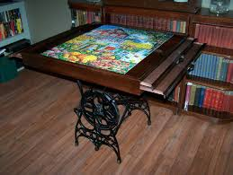 steampunk puzzle table steampunk pinterest puzzle table