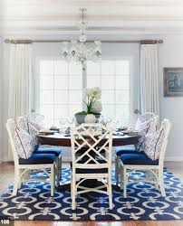 Best  White Dining Chairs Ideas On Pinterest White Dining - Blue and white dining room