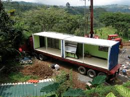 this house was built out of 14 shipping containers dwell pv14