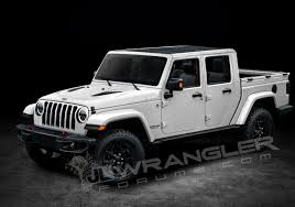 2018 jeep wrangler interior fully revealed new details u0026 info based renders of the jeep wrangler pickup
