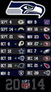 best 25 seahawks 2014 schedule ideas on seattle