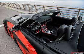 Car Bonnet Flags Road Test Hamann Hawk Sls Amg Roadster Gtspirit