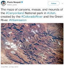 Climate In The Uncompahgre Watershed Uncompahgre Watershed Canyonlands From The International Space Station Coyote Gulch