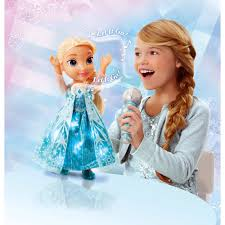 disney frozen sing long elsa doll walmart