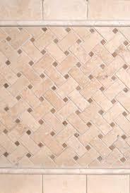 Durango Cream Tumbled And Basketweave Backsplash Tile MSI - Basket weave tile backsplash
