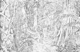 tropical forest by artbygiuseppe on deviantart