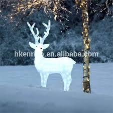 lighted reindeer beautiful lighted santa sleigh and reindeer or outdoor lighted