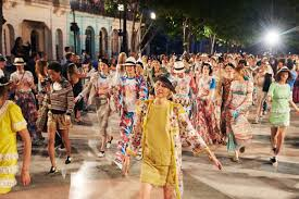 chanel sets havana as a picturesque scene for its caribbean