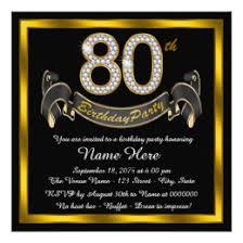 80th birthday invitations 80th birthday invitations announcements zazzle