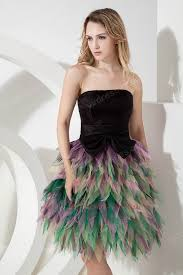 multi colors skirt sweet 16 birthday party dress for