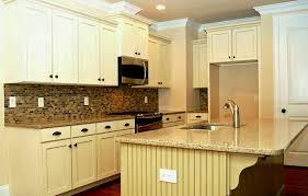 backsplash ideas for white kitchen cabinets kitchen antique white kitchen cabinets likable with chocolate