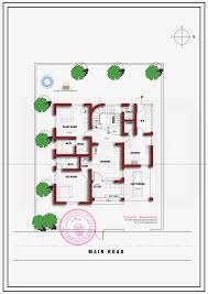floor plan of house in india single floor home plan in 1400 square feet kerala home design