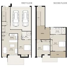 Floor Plan Two Storey by 3 Bedroom Villa Floorplans The Brittwood At Ettalong