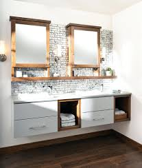 bathroom shelf idea shelves shelf ideas floating vanity shown with chroma door style