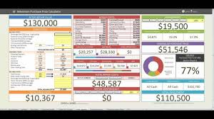 real estate tracker spreadsheet real estate investment accounting